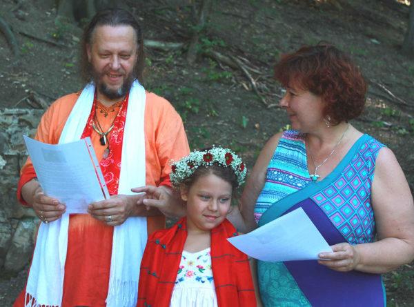 Schamanische Zeremonie